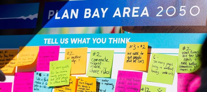 Plan Bay Area 2050 public engagement